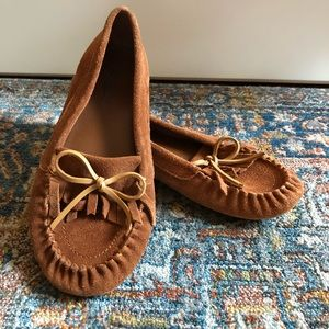 Lucky Brand Moccasin Flats